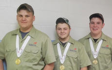 """<div class=""""source""""></div><div class=""""image-desc"""">Taylor County High School students enrolled in the welding program at Green County Area Technology Center recently attended the SkillsUSA state competition in Louisville. From left, students Mason Arnold, Jesse Hurdt and Chris Whitley represented GCATC and placed first in the welding fabrication team event.</div><div class=""""buy-pic""""></div>"""