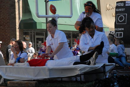 Campbellsville University hosted its homecoming events on Oct. 15-16. Activities included a parade, homecoming festival, football game, pancake breakfast, bookstore hours, car show and the crowning of a homecoming queen.