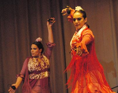 The Juan Siddi Flamenco Co. performed in Campbellsville on Tuesday, April 17, as the final event of the 2011-2012 Central Kentucky Arts Series event.