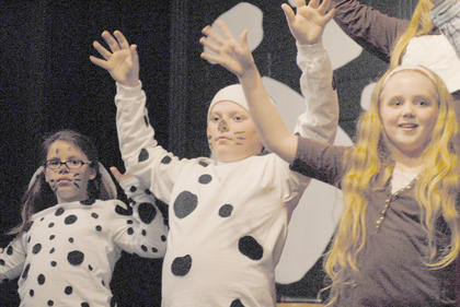 "Taylor County Elementary School's after-school program Cardinal Station presented Disney's ""101 Dalmatians Kids"" on March 25-27 at Campbellsville University."