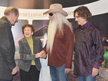 Before the concert, The Oak Ridge Boys hosted a meet and greet with concertgoers.
