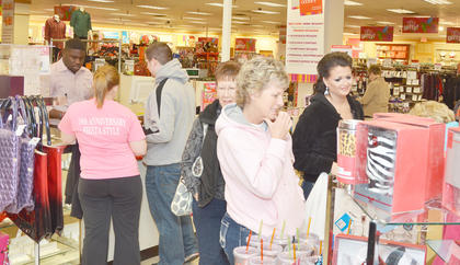 At Goody's, shoppers bought clothing, toys and home décor accessories on Black Friday morning.