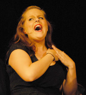 "Bella Jeffrey of Campbellsville performs during ""You Can't Stop the Beat."""
