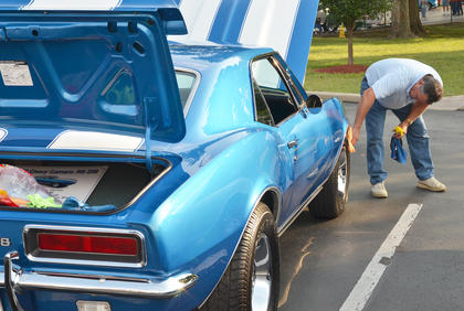 Many residents participated in this year's car show at Campbellsville University, hosted by Tri-County Car Club.