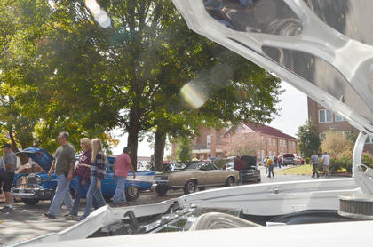 This year's car show, the 20th anniversary Homecoming show at Campbellsville University, attracted more cars than ever before at more than 150.