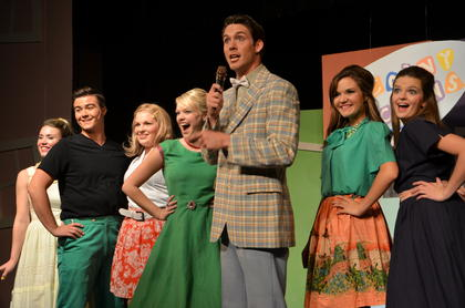 Singing, dancing and hairspray. Campbellsville University presented &#039;Hairspray&#039; last week. In the play, pleasantly plump teenager Tracy Turnblad teaches 1962 Baltimore a thing or two about integration after landing a spot on a local TV dance show, the Corny Collins Show. 