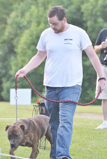 Residents compete in this year's dog show, sponsored by the Taylor County SPCA.