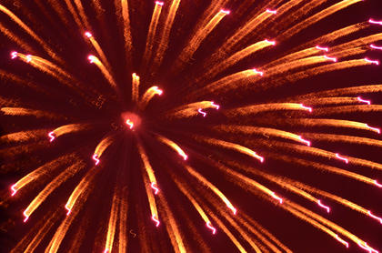 The annual fireworks show over City Lake was the culminating event of this year's Campbellsville/Taylor County Fourth of July Celebration.
