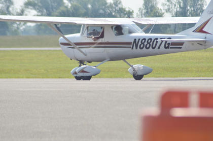 Many Campbellsville residents took rides on Saturday and flew high above Taylor County.