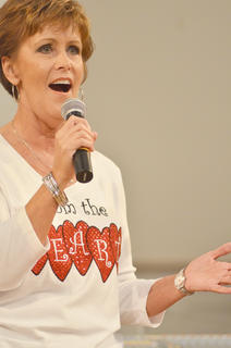 From the Heart member Darlene Netherland performs.