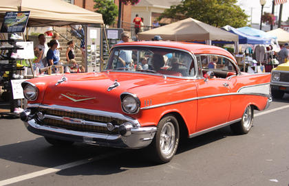 Many classic cars took part in the Fourth of July parade in Campbellsville.