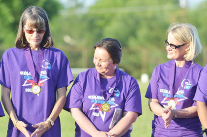 They surpassed their goal. According to co-chair Sheila Hayes, this year's Relay for Life effort raised $51,212.19, with more donations expected. Taylor Regional Hospital raised the most money and received the spirit award. The Grandview Nursing & Rehabilitation Facility won the best campsite award with its Mardi Gras theme. Hayes said 19 teams participated, with 11 having campsites. Hayes said those who attended enjoyed this year's holiday-themed events, especially the Mr. Independence pageant. Jon Jeffers won the crown. Planning for next year's Relay will get under way around October, Hayes said.