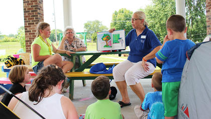 The little hands are eager to pick as the squash, cucumbers and peppers ripen. While the tomatoes and carrots aren't quite ready yet, several pairs of eyes are watching them grow. A Child's Workplace and Porter's Playhouse day cares started gardens of their own after participating in a nutrition workshop led by Angie Freeman, expanded foods and nutrition education program assistant for the Taylor County Cooperative Extension Office.