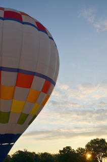 Ten hot air balloonists came to Campbellsville on Thursday night for the annual hot air balloon glow at Taylor County schools. The event got underway just as the sun began to set.