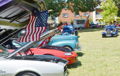Nearly 170 people brought their cars to the annual Fourth of July car show on Friday morning.