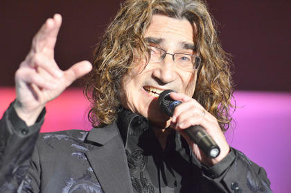 Richard Sterban sings bass on one of The Oak Ridge Boys' hit songs.