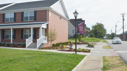 CU's new village, located on Meader Street, is ready for students.