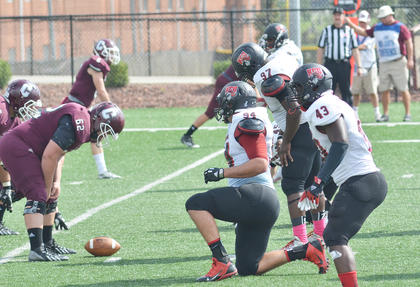 CU Tiger football players defeated Kentucky Christian University on Saturday by a score of 23-6.