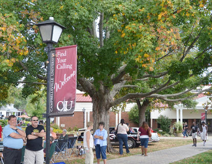 CU's homecoming festivities attract many local residents and those from other states.