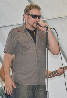 "Jody Medford performed his hit ""Moonshine"" with Cash Creek on Friday night at the fair."