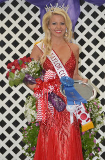 Kacie Wilson of Cave City was crowned Miss Taylor County Fair on Tuesday night.