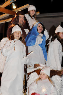 The Christmas Parade of Lights in downtown Campbellsville on Dec. 4.