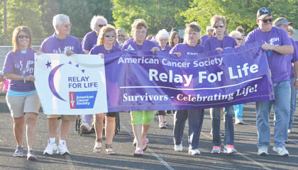 On Friday, the Taylor County community gathered for its annual Relay for Life celebration to honor those who lost their fight with cancer and those who are still fighting. Cancer survivors were honored with medallions and their own lap around the track.