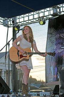 Seventeen-year-old Caylan Hays of Union won the K-Country Showdown. She received a $200 cash prize and a trophy and will advance to the state competition.