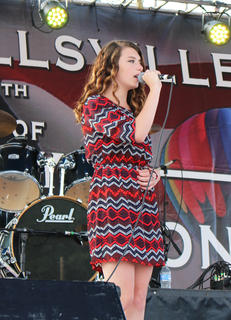 """Kailey Witham of Campbellsville sings Miranda Lambert and Carrie Underwood's hit """"Somethin' Bad."""""""