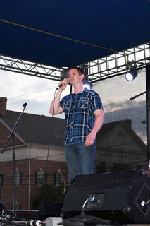 """Clint Sapp of Louisville honors those who died while serving our country with Tim McGraw's """"If You're Reading This."""""""