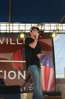 "Hunter Yates of Campbellsville sings Luke Bryan's hit ""Country Girl."""