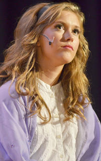 Callie Botkin, portraying Briar Rose, thinks about the man she met in her dreams.