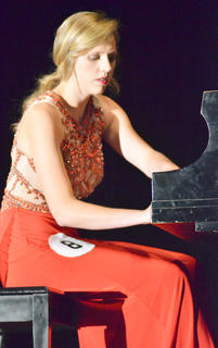 "Kassie Miller, who was named the 2015 Taylor County Distinguished Young Woman, performed ""Scherzo in D Minor"" for her talent. Miller also took home the scholastic, self-expression and interview awards."