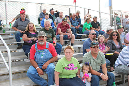 The KTPA truck pull was a popular attraction at this year's fair.
