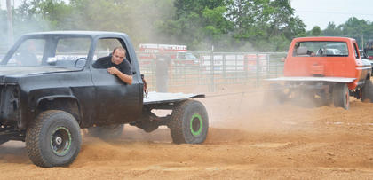 Kentucky Truck Tuggers came to Campbellsville on Tuesday night.