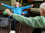 SLIDESHOW: Senior Exercise Class