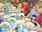 SLIDESHOW: Supper with Santa