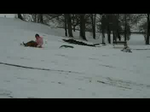 VIDEO: Sledding at Miller Park