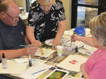 SLIDESHOW: Watercolor Painting Class