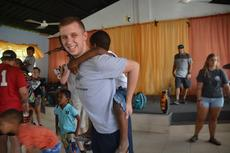 """<div class=""""source"""">GO Ministries</div><div class=""""image-desc"""">Pictured is CKNJ reporter/columnist Zac Oakes at a church in the Dominican Republic. </div><div class=""""buy-pic""""><a href=""""/photo_select/67378"""">Buy this photo</a></div>"""