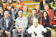 """<div class=""""source"""">Bobby Brockman</div><div class=""""image-desc"""">David and Brenda Parsons are joined, front, by David's 92-year-old mother, Pauline Parsons and middle, from left, his brother Sam Parson and his nephew Ronnie Parson and back: his niece Debbie Parson, his sister-in-law Margaret Parson and his sister Glenda Lawson. Parsons, who also played basketball and baseball at Taylor County, coached three different sports (boys' and girls' tennis, golf and basketball) over a 31-year coaching career for the Cardinals and Lady Cardinals.</div><div class=""""buy-pic""""><a href=""""/photo_select/27752"""">Buy this photo</a></div>"""