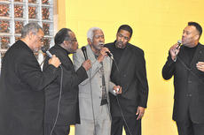 "<div class=""source"">James Roberts</div><div class=""image-desc"">Campbellsville resident Sparkie Taylor, center, joined the Northern Kentucky Brotherhood in singing ""Amazing Grace"" to close Saturday night's Dr. Martin Luther King Jr. reception.</div><div class=""buy-pic""><a href=""/photo_select/35120"">Buy this photo</a></div>"