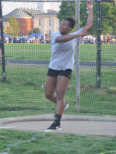 "<div class=""source"">Josh Claywell</div><div class=""image-desc"">Taylor County's Ciara Mosley competes in the discus throw Tuesday during the Class 2-A, Region 2 championship meet at Bardstown High School.</div><div class=""buy-pic""><a href=""/photo_select/66929"">Buy this photo</a></div>"