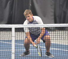 "<div class=""source"">photo/JOSH CLAYWELL</div><div class=""image-desc"">Campbellsville's Cody Davis reacts during a first-round match against Corbin on Thursday in the KHSAA State Tennis Championships at the Top Seed Tennis Center in Nicholasville.</div><div class=""buy-pic""><a href=""/photo_select/67030"">Buy this photo</a></div>"