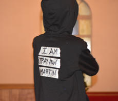 "<div class=""source"">Zac Oakes</div><div class=""image-desc"">Youth at First Baptist Church performed a program for Black History Month. The youth had tape over the mouths wtih words such as ""Pray"" and ""Justice for All."" The program also focused on recent events, including the shooting death of Florida teenager Trayvon Martin.</div><div class=""buy-pic""><a href=""/photo_select/66631"">Buy this photo</a></div>"