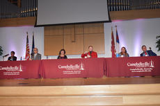 "<div class=""source""></div><div class=""image-desc"">All six candidates for mayor participated in a live, televised forum at Campbellsville University's Ransdell Chapel Tuesday night. </div><div class=""buy-pic""><a href=""/photo_select/66892"">Buy this photo</a></div>"