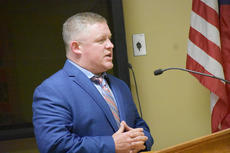 """<div class=""""source"""">Zac Oakes</div><div class=""""image-desc"""">Taylor County Assistant Superintendent Charles Higdon speaks to the board last Thursday night. </div><div class=""""buy-pic""""><a href=""""/photo_select/66804"""">Buy this photo</a></div>"""