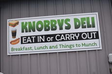 """<div class=""""source"""">Zac Oakes</div><div class=""""image-desc"""">Knobby's Deli is slated to open one day next week</div><div class=""""buy-pic""""><a href=""""/photo_select/66269"""">Buy this photo</a></div>"""