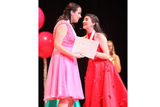 "<div class=""source"">Jeff Moreland</div><div class=""image-desc"">Elizabeth Sullivan, left, is named Taylor County's Distinguished Young Woman 2019 at Taylor County High School's Roger D. Cook Auditorium Saturday. Lexi Raikes, Taylor County's 2018 Distinguished Young Woman, presents Sullivan a medal and certificate.</div><div class=""buy-pic""><a href=""/photo_select/67716"">Buy this photo</a></div>"
