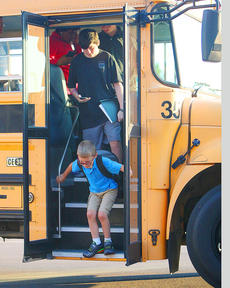 "<div class=""source"">Jeff Moreland</div><div class=""image-desc"">Students across Taylor County will head back to school Wednesday.</div><div class=""buy-pic""><a href=""/photo_select/67418"">Buy this photo</a></div>"